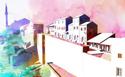 Bosnae Digital Art - Stari Grad by Toro Tan