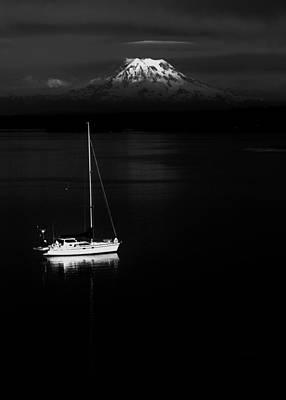 Photograph - Stark Sail by Benjamin Yeager