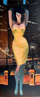 Painting - Starlet In London by Geoff Greene