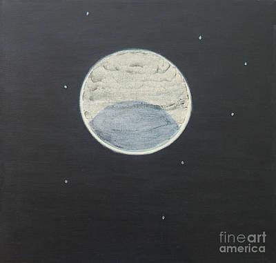 Art Print featuring the painting Starlight by Mini Arora