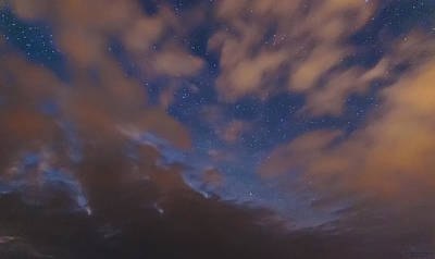 Art Print featuring the photograph Starlight Skyscape by Marty Saccone
