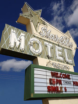 Photograph - Starlite Motel by Rod Seel