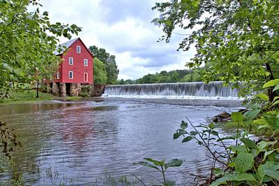 Photograph - Starrs Mill by Gordon Elwell