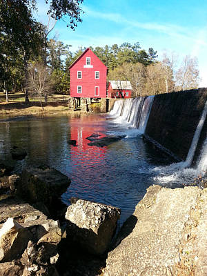 Starrs Mill Photograph - Starr's Mill In Senioa Georgia 2 by Donna Brown