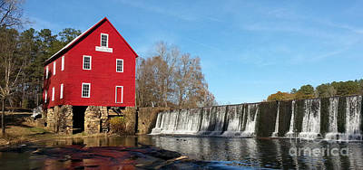 Photograph - Starr's Mill In Senioa Georgia by Donna Brown