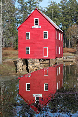 Starrs Mill Photograph - Starr's Reflection by Don Messina