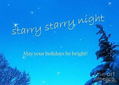 Photograph - Starry Bright Night by Lizi Beard-Ward