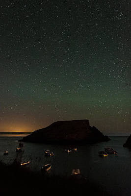 Constellations Photograph - Starry Island by Chris Dale