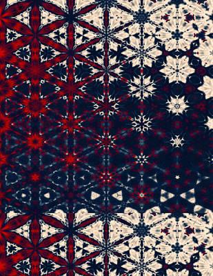 Starry Night Abstract Art Print by Georgiana Romanovna