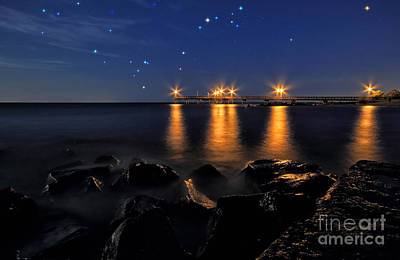 Photograph - Starry Night by Charline Xia