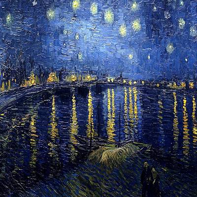 Painting - Starry Night  by Florene Welebny