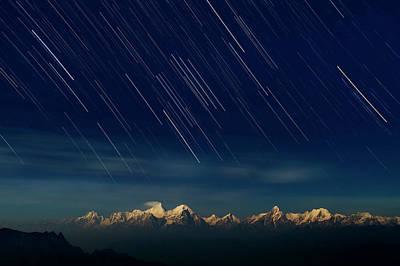 China Wall Art - Photograph - Starry Night by Hua Zhu