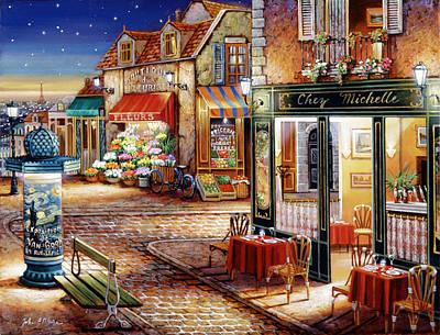 Painting - Starry Night by John P. O'brien