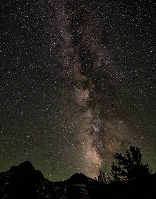 Kings Canyon Photograph - Starry Night At Rae Lakes by Matt Hammerstein