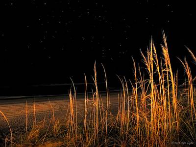 Starry Night Over The Atlantic Art Print by Matt Taylor