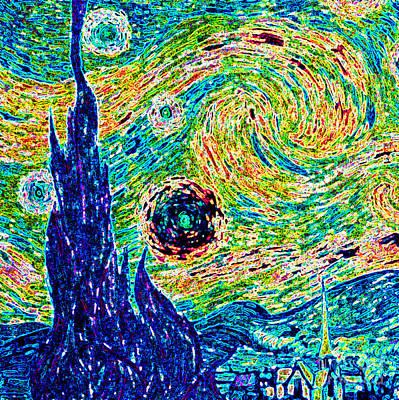 Starry Night Revisited Original