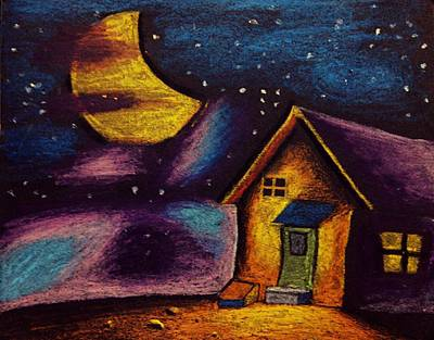 Starry Night Art Print by Salman Ravish
