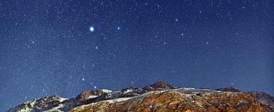 Snowy Night Photograph - Starry Night by Babak Tafreshi