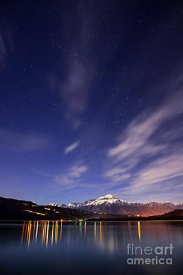 Mountain Photos - Starry night by Yuri San