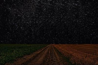 Starry Starry Night Art Print by David Dehner