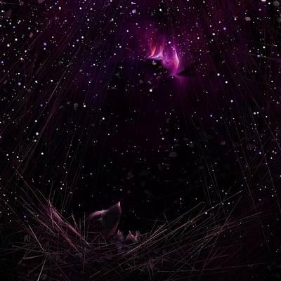 Starry Starry Night Art Print by Rachel Christine Nowicki