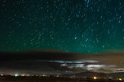 Photograph - Starry Storms by Alan Marlowe