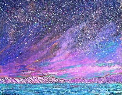 Painting - Starry.....starry Night by J Michael Orr