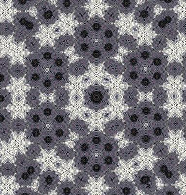 Digital Art - Stars And Dots Mandala by Karen Buford