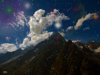 Photograph - Stars And Planets On Mont Blanc by Augusta Stylianou
