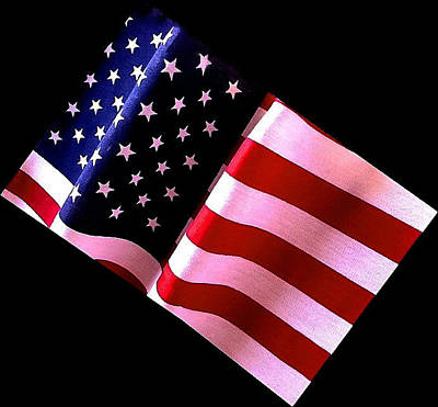 Photograph - Stars And Stripes by Bill Owen