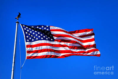 Forever Photograph - Stars And Stripes Forever by Olivier Le Queinec