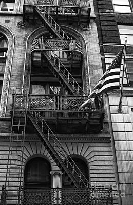 Photograph - Stars And Stripes In Nyc by John Rizzuto