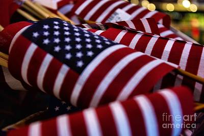 Photograph - Stars And Stripes by John S