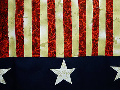 Photograph - Stars And Stripes by Richard Reeve