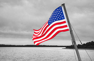 Photograph - Stars And Stripes by Susan Leonard