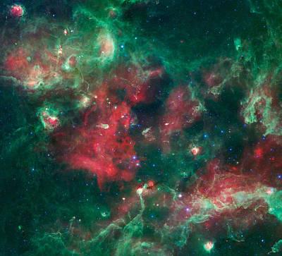 Stars Brewing In Cygnus X Art Print