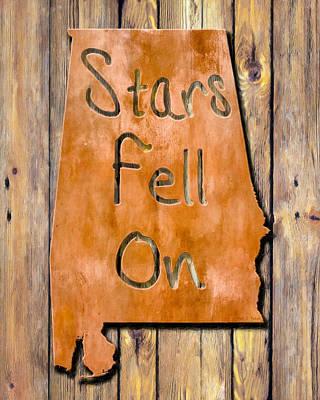 Fell Digital Art - Stars Fell On Alabama by Mark E Tisdale