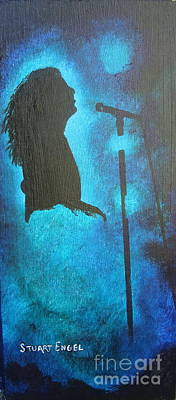 Zep Painting - Stars Fill My Dreams by Stuart Engel