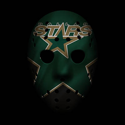 Photograph - Stars Jersey Mask by Joe Hamilton