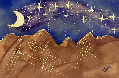 Stars Of Heaven And Earth Art Print