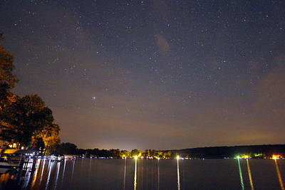 Stars Over Conesus Art Print by Richard Engelbrecht