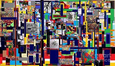 Inner Self Digital Art - Start With Alef 10 by David Baruch Wolk
