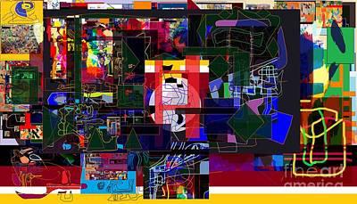 Inner Self Digital Art - Start With Alef 7e  by David Baruch Wolk