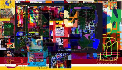 Inner Self Digital Art - Start With Alef 7f by David Baruch Wolk