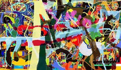Inner Self Digital Art - Wiping Out The Language Of Amalek 9dbi by David Baruch Wolk