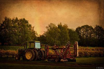 Soil Digital Art - Starting Over - Vintage Country Art by Jordan Blackstone