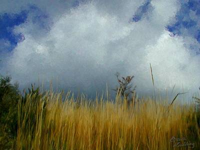 Cloud Painting - Starting To Rain by Bruce Nutting