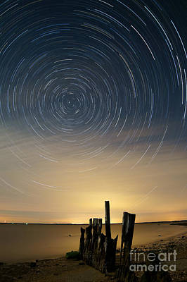Startrails 2 Print by Benjamin Reed
