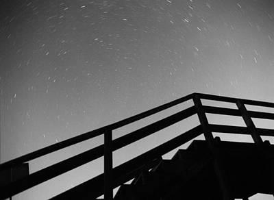 Photograph - Startrails by Luis Esteves
