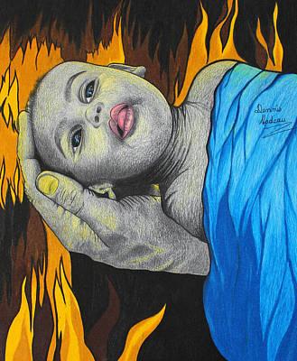 Starvation Art Print